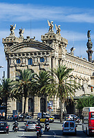 Former Customs House, Port Vell, Barcelona, Spain.