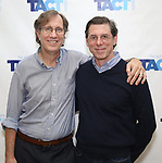"Jeffrey Couchman and Scott Alan Evans attends the TACT/The Actors Company Theatre Cast Meet & Greet for  ""Three Wise Guys"" on February 15, 2018 at the TACT Studios in New York City."
