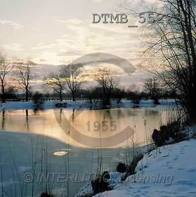 Gerhard, CHRISTMAS LANDSCAPE, photos, chiemsee, germany(DTMB55223,#XL#) Landschaften, Weihnachten, paisajes, Navidad