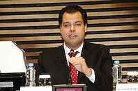 SÃO PAULO, 06 DE MARÇO DE 2013 - SEMINÁRIO LICENCIAMENTO AMBIENTAL DA AQUICULTURA - O secretário do Meio Ambiente Bruno Covas durante o Seminário Licenciamento Ambiental da Aquicultura, na sede da FIESP, região da Av Paulista, zona central da capital, na manhã desta quarta-feira(6) - FOTO LOLA OLIVEIRA/BRAZIL PHOTO PRESS