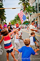 Fourth of July Parade along 5th Avenue South, Naples, Florida, USA. Photo by Debi PIttman Wilkey