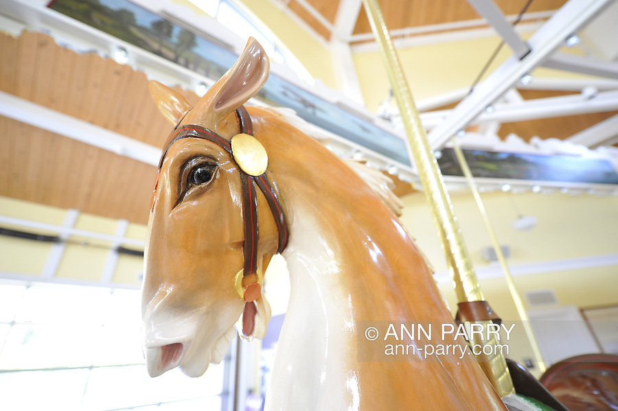 Nunley's Carousel, Garden City, New York, USA, on June 28, 2012