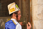 Israel, Jerusalem, Purim holiday at the Ultra Orthodox Me?a She?arim quarter, 2006<br />
