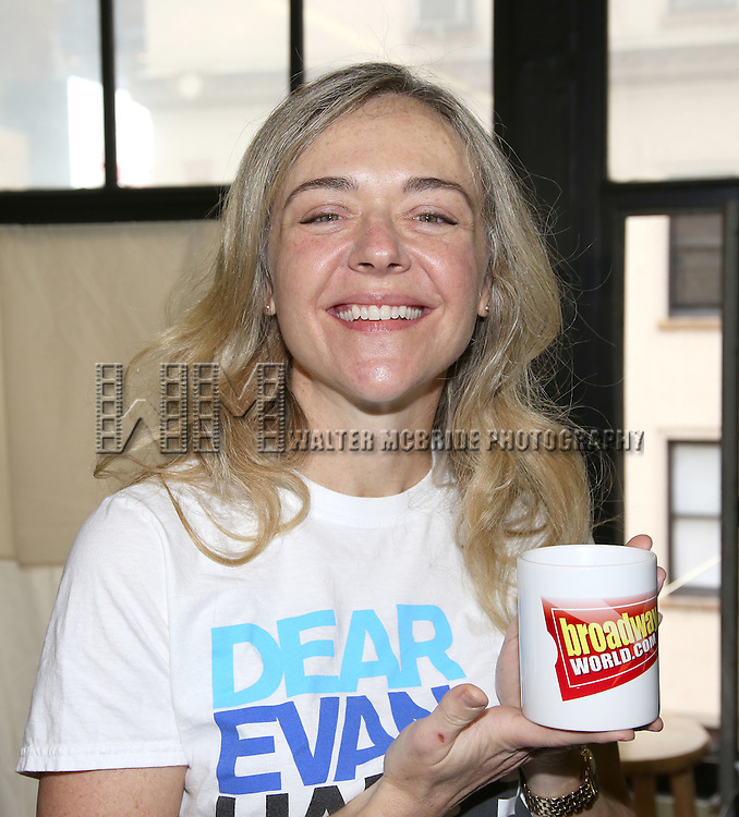 Rachel Bay Jones during the 'Dear Evan Hansen' photo call at the Second Stage Theatre on March 16, 2016 in New York City.