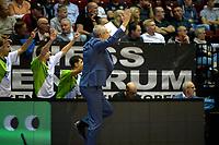 GRONINGEN - Basketbal, Donar - ZZ Leiden, Supersup, seizoen 2018-2019, 06-10-2018,  Leiden coach  Rolf Franke