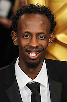 HOLLYWOOD, LOS ANGELES, CA, USA - MARCH 02: Barkhad Abdi at the 86th Annual Academy Awards held at Dolby Theatre on March 2, 2014 in Hollywood, Los Angeles, California, United States. (Photo by Xavier Collin/Celebrity Monitor)