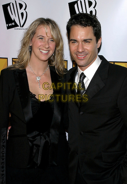 ERIC McCORMACK & WIFE JANET.The 10th Annual Critics' Choice Awards held at the Wiltern Theatre, Los Angeles, California, USA, .January 10th 2005..half length married.Ref: ADM.www.capitalpictures.com.sales@capitalpictures.com.©JWong/AdMedia/Capital Pictures.
