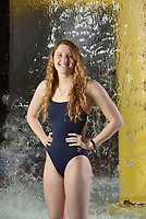 NWA Democrat-Gazette/SPENCER TIREY<br /> Luciana Thomas has been named the all-NWADG girls swimming newcomer of the year
