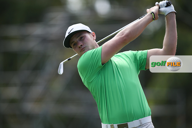 Oliver Fisher (ENG) plays to the 8th during Round Two of the Africa Open 2015 at the East London Golf Club, East London, Eastern Cape, South Africa. Picture:  David Lloyd / www.golffile.ie. 06/03/2015