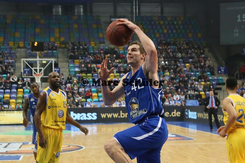 Aaron Doornekamp (Skyliners) - Fraport Skyliners vs. Loewen Braunschweig, Fraport Arena Frankfurt