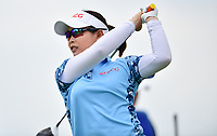 SINGAPORE - FEBRUARY 01: Moriya Jutanugarn of Thailand on the 12th tee during the second round of the HSBC Women's World Championship 2019 at Sentosa Golf Club - Tanjong Course, Singapore on March 01, 2019.<br /> .<br /> .<br /> .<br /> (Photo by: Naratip Golf Srisupab/SEALs Sports Images)<br /> .<br /> Any image use must include a mandatory credit line adjacent to the content which should read: Naratip Golf Srisupab/SEALs Sports Images