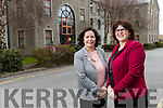 Moira Murrell, CEO of Kerry County Council and Bridget Fitzgerald, Kerry County Council Economic Officer.