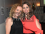 Linda Lou and Kelly-Ann Russell at St Olivers Community College class of 1996 reunion. Photo:Colin Bell/pressphotos.ie