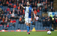 Blackburn Rovers' Charlie Mulgrew<br /> <br /> Photographer Rachel Holborn/CameraSport<br /> <br /> The EFL Sky Bet League One - Blackburn Rovers v Blackpool - Saturday 10th March 2018 - Ewood Park - Blackburn<br /> <br /> World Copyright &copy; 2018 CameraSport. All rights reserved. 43 Linden Ave. Countesthorpe. Leicester. England. LE8 5PG - Tel: +44 (0) 116 277 4147 - admin@camerasport.com - www.camerasport.com