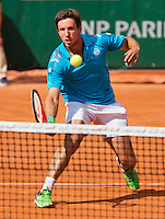 France, Paris , May 24, 2015, Tennis, Roland Garros, Igor Sijsling (NED)<br /> Photo: Tennisimages/Henk Koster