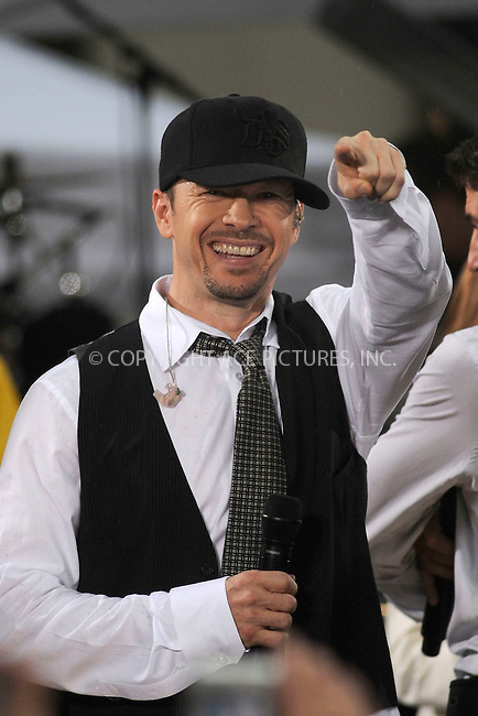 WWW.ACEPIXS.COM . . . . .....May 16, 2008. New York City,....Singer Donnie Wahlberg of the New Kids on the Block performs on the 'Today show in Rockefeller Plaza...  ....Please byline: Kristin Callahan - ACEPIXS.COM..... *** ***..Ace Pictures, Inc:  ..Philip Vaughan (646) 769 0430..e-mail: info@acepixs.com..web: http://www.acepixs.com
