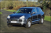 BNPS.co.uk (01202 558833)<br /> Pic: H&amp;H/BNPS<br /> <br /> Porsche Cayenne S FTQ with only 11,100 miles on the clock  - &pound;7500.<br /> <br /> The &pound;1,000,000 garage sale... a stunning collection of luxury cars seized from the personal collection of a Middle Eastern sheikh has emerged. <br /> <br /> The impressive fleet, comprising Ferrari, Rolls-Royce and Bentley motors, has arrived at auction following a high court ruling against their former owner.<br /> <br /> Due to their unusual history many of the cars, all of which were UK based and have unusually low mileages, are being offered at a bargain price.