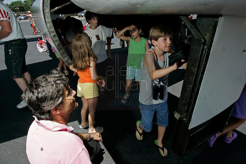 The Good Neighbor Day Air Show at Dekalb Peachtree Airport in Atlanta on Saturday, June 3, 2006.