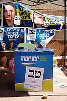 September 2019 Elections: Elections to the 22st Knesset , Israel