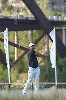Satoshi Kodaira (JPN) watches his tee shot on 13 during day 3 of the WGC Dell Match Play, at the Austin Country Club, Austin, Texas, USA. 3/29/2019.<br /> Picture: Golffile | Ken Murray<br /> <br /> <br /> All photo usage must carry mandatory copyright credit (© Golffile | Ken Murray)