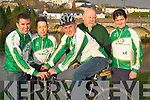 600 MILE CYCLE: Killorglin cyclists who will cycle 600 miles from Killorglin to Lourdes, France on the 15th March to help raise funds for the IHCPT are l-r: Ian Costello, Teresa Walsh, John Costello, Pat Healy and Joseph O'Shea.   Copyright Kerry's Eye 2008
