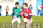 Dingle v Castlemain/Miltown in the play off for a place in Div ! at Kerins O'Rahillys GAA Grounds Strand Road, Tralee on Sunday..   Copyright Kerry's Eye 2008