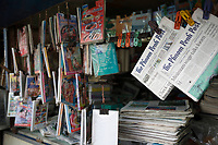 Battambang - Cambodia - June 2020<br /> -  Merchants at Art Deco architecture PSAR NAT Market