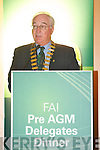 BANQUET: Enjoying the FAI banquet in The Malton Hotel, Killarney, last Friday.evening were,