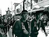 Fest in Karatsu, Japan