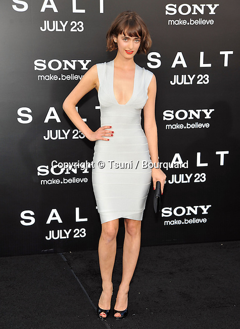 Olya Zueva<br /> Salt Premiere at the Chinese Theatre In Los Angeles.