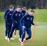 06.03.2020: Rangers training: Borna Barisic