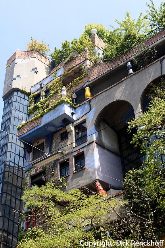 Hundertwasser-Haus Kegelgasse/L&ouml;wengasse, Wien, &Ouml;sterreich<br /> Hundertwasser House Kegelgasse/L&ouml;wengasse , Vienna, Austria