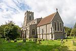 Village parish church of All Saints, Lawshall, Suffolk, England, UK