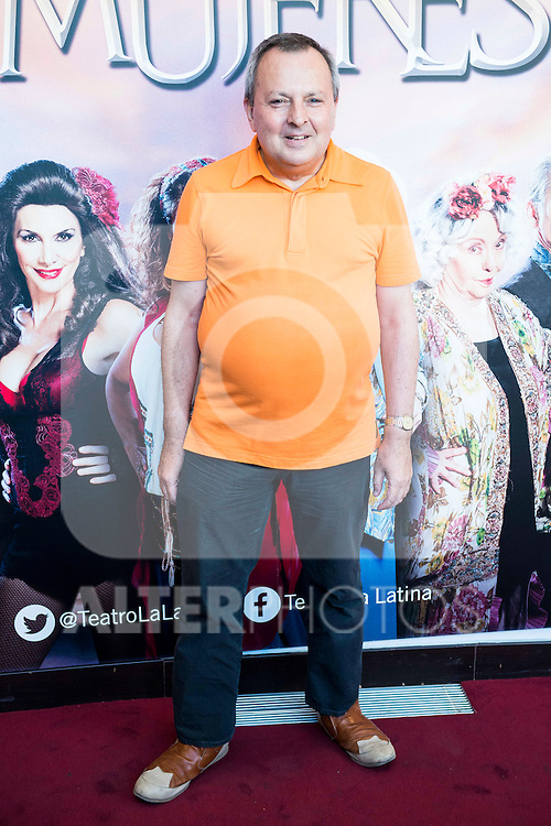 "Octavio Acebes during the red carpet of the theater play ""La Asamblea de las Mujeres"" at Teatro La Latina in Madrid. August 25. 2016. (ALTERPHOTOS/Borja B.Hojas)"