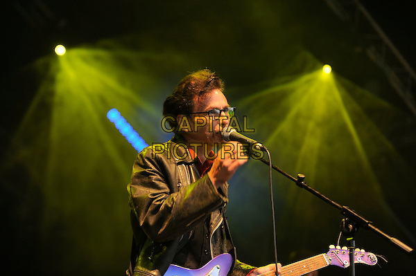 GUILDFORD, ENGLAND - JULY 19: Tommy Scott of Space performs live at Guilfest, Stoke Park, Guildford on July 19, 2014 in Guildford, England.<br /> CAP/MAR<br /> &copy; Martin Harris/Capital Pictures