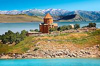 10th century Armenian Orthodox Cathedral of the Holy Cross on Akdamar Island, Lake Van Turkey 84