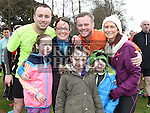 The O'Brien family with Stephen, Lisa and Summer Geraghty. Photo: Colin Bell/pressphotos.ie