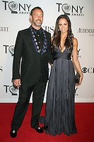 Matt Stone and Emma Sugiyama at the 66th Annual Tony Awards at The Beacon Theatre on June 10, 2012 in New York City. Credit: RW/MediaPunch Inc.