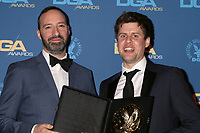 LOS ANGELES - FEB 2:  Tony Hale, Jack Jameson at the 2019 Directors Guild of America Awards at the Dolby Ballroom on February 2, 2019 in Los Angeles, CA