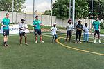 08.01.2019, AMANDLA Save Hub, Johannesburg, RSA, TL Werder Bremen Johannesburg Tag 06 - Besuch des AMANDLA Save Hub<br /> <br /> im Bild / picture shows <br /> <br /> Felix Beijmo (Werder Bremen #02)<br /> Max Kruse (Werder Bremen #10)<br /> Claudio Pizarro (Werder Bremen #04)<br /> <br /> **** Attention *** **** Attention *** <br /> <br /> Only be used for the purpose of documenting the Safe-Hub visit on 08 January 2019<br /> <br /> Foto © nordphoto / Kokenge