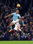 Vincent Kompany of Manchester City in action - Manchester City vs Sunderland - Barclays Premier League - Etihad Stadium - Manchester - 26/12/2015 Pic Philip Oldham/SportImage