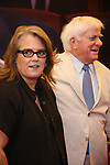 Rosie O'Donnell and Phil Donahue attends the Broadway Opening Night Performance for 'Michael Moore on Broadway' at the Belasco Theatre on August 10, 2017 in New York City.
