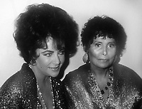 Elizabeth Taylor Lena Horne 1983<br /> Photo By John BarrettPHOTOlink.net