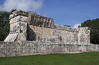 Southern Temple, Game of Ball, 900-1100, Toltec Architecture, Chichen Itza, Yucatan, Mexico. Picture by Manuel Cohen