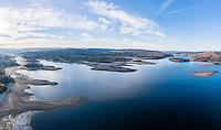 France, Haute-Vienne (87) et Creuse (23), lac de Vassivière (vue aérienne) // France, Creuse and Haute Vienne, Vassiviere lake (aerial view)