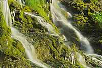Waterfall detail <br /> Forillon National Park<br /> Quebec<br /> Canada