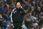 Swansea's care-taker manager Alan Curtis - Manchester City vs Swansea - Barclays Premier League - Etihad Stadium - Manchester - 12/12/2015 Pic Philip Oldham/SportImage
