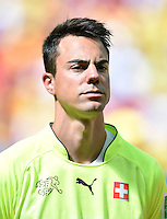 FUSSBALL WM 2014  VORRUNDE    Gruppe D     Schweiz - Ecuador                      15.06.2014 Torwart Diego Benaglio (Schweiz)