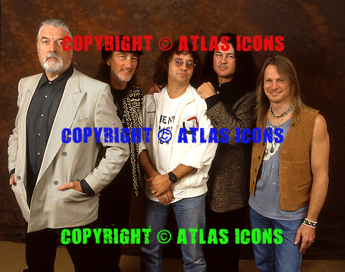 DEEP PURPLE - Photographed in London UK - Dec 1995. .Photo credit:<br />
