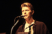 DAVID BOWIE - David Bowie delivers the Keynote Speech at the 1994 CMJ Music Marathon in New Yrok City, NY USA - Oct 30, 1994.  Photo Credit:  Kevin Estrada / Iconicpix
